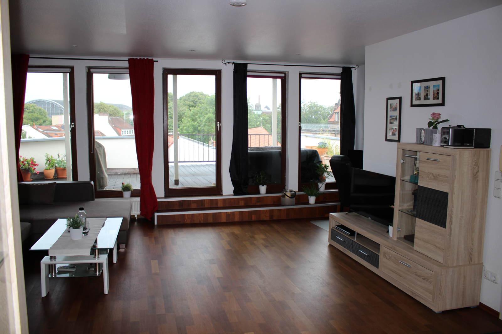 Reserviert Helle Wohnung Im Altbremer Haus Mit Großer Dachterrasse